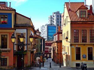Cimadevilla y sus calles.